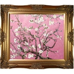 La Pastiche Original Branches of an Almond Tree in Blossom, Pearl Pink Hand Painted Oil Reproduction found on Bargain Bro from Sam's Club for USD $173.26