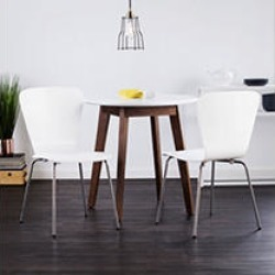 Holly & Martin Cadby Chair Set, 2pc White found on Bargain Bro India from Sam's Club for $109.88