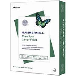 Hammermill - Laser Print Paper, 32lb, 98 Bright, 8-1/2