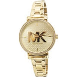 Michael Kors Sofie Quartz Crystal Gold Dial Ladies Watch found on MODAPINS from Sam's Club for USD $149.00