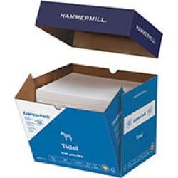 """Hammermill - Tidal MP Copy Paper, 20lb, 92 Bright, 8-1/2 x 11"""" - Half Case"""