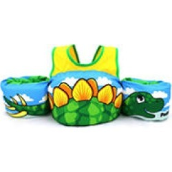 Body Glove Kids Paddle Pals Type V PFD (Child 30 - 50 lbs) - U.S. Coast Guard Approved PFD - Dino found on Bargain Bro India from Sam's Club for $14.98