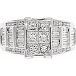 1.95 ct. t.w. Diamond Fashion Ring in 14 KARAT WHITE GOLD 5 found on Bargain Bro from Sam's Club for USD $1,291.24
