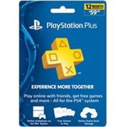 Sony PlayStation Plus 12 Month Card - $59.99 Value found on GamingScroll.com from Sam's Club for $54.98