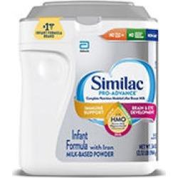 Similac Pro-Advance OptiGRO Non-GMO Infant Formula with Iron (34 oz.)