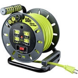 Masterplug Extension Cord Reel (50 ft.) with wall mount found on Bargain Bro India from Sam's Club for $29.98