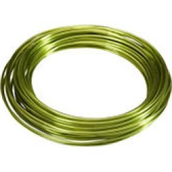 Oasis Aluminum Wire, Apple Green (39 ft. per roll, 10 count)