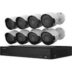 Wisenet 8-Channel 5MP DVR Surveillance System with 2TB Hard Drive, 8-Camera 5MP Indoor/Outdoor Cameras found on Bargain Bro India from Sam's Club for $399.00