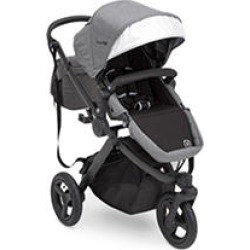 Jeep Sport Utility All-Terrain Jogger by Delta Children, Gray on Black Frame found on Bargain Bro Philippines from Sam's Club for $299.98