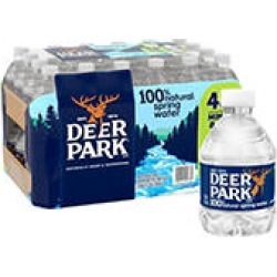 Deer Park 100% Natural Spring Water (8oz / 48pk) found on Bargain Bro Philippines from Sam's Club for $6.47