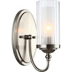 Hardware House Lexington 1 Light Wall Fixture - Satin Nickel found on Bargain Bro India from Sam's Club for $24.98