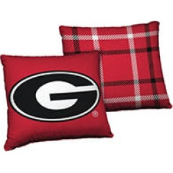 24 x 24 Licensed Georgia Bulldogs NCAA Team Cloud Pillow found on Bargain Bro Philippines from Sam's Club for $14.98