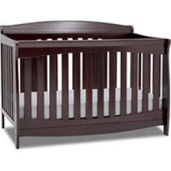 Delta Children Colton 6-in-1 Convertible Crib, Dark Chocolate