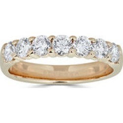 0.99 CT. T.W. 7-Stone Diamond Band Ring in (HI, I1) Yellow Gold 10 found on Bargain Bro India from Sam's Club for $999.00