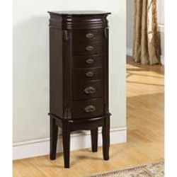 Powell Italian Influenced Transitional Jewelry Armoire - Espresso found on Bargain Bro Philippines from Sam's Club for $153.98