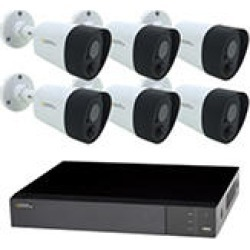 Q-See 8-Channel 5MP DVR Surveillance System with 2TB Hard Drive, 6-Camera 5MP Indoor/Outdoor Cameras found on Bargain Bro India from Sam's Club for $299.00