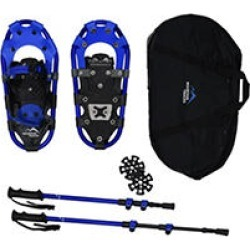 Mountain Tracks Pro Series 16.5 inch youth snowshoe set - Blue found on Bargain Bro Philippines from Sam's Club for $89.98