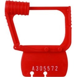BEST DEALS Detecto Red Plastic Seals (Individually Numbered)