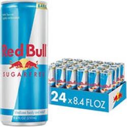 Red Bull Sugarfree Energy Drink (8.4 oz, 24 pk.)