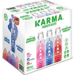 Karma Probiotic Water Variety Pack (18oz / 12pk) found on Bargain Bro Philippines from Sam's Club for $16.98