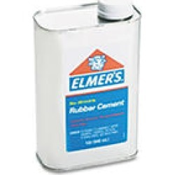 Rubber Cement   Repositionable