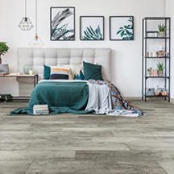 Select Surfaces Rustic Gray Spill Defense Laminate Flooring (48pk)