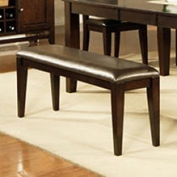 Weston Espresso Dining Bench found on Bargain Bro India from Sam's Club for $74.87