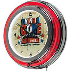 Coca Cola Brazil Drink a Coke Neon Clock found on Bargain Bro from Sam's Club for USD $45.51