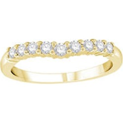 .32 ct. t.w. Diamond Enhancer Band Yellow Gold Size 4.5 found on Bargain Bro India from Sam's Club for $459.00