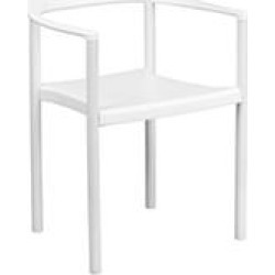WHITE STACK CHAIR PLASTIC STACK CHAIR