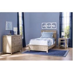 Delta Children Homestead 3pc Twin Room-In-A-Box, Rustic Whitewash