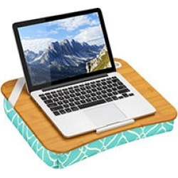 LapGear Designer Lap Desk, Aqua Trellis found on Bargain Bro India from Sam's Club for $29.98