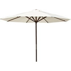Classic Wood 9 ft Market Umbrella - Natural found on Bargain Bro India from Sam's Club for $58.49