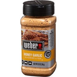 Weber Honey Garlic Seasoning & Rub (8.75 oz.) found on Bargain Bro India from Sam's Club for $3.98
