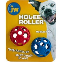 JW Hol-ee Roller Treat Toys, Medium 2 pk. found on Bargain Bro India from Sam's Club for $8.98