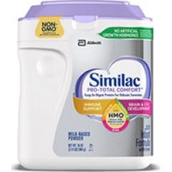 Similac Pro-Total Comfort Non-GMO with 2'-FL HMO Infant Formula (34 oz.)