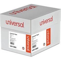 Universal® Computer Paper, 20lb, 14-7/8 x 11, White, 2400 Sheets