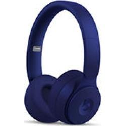 Beats Solo Pro Wireless Noise Cancelling On-Ear Headphones (Dark Blue)