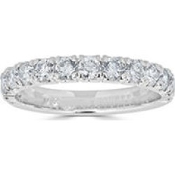 0.99 CT. T.W. 14-Stone Diamond Band Ring in (HI, I1) White Gold 5.5 found on Bargain Bro India from Sam's Club for $999.00