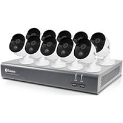 Swann 16-Channel 1080p DVR Surveillance System with 1TB Hard Drive, 10-Camera 1080p Indoor/Outdoor Cameras Works with found on Bargain Bro India from Sam's Club for $479.00