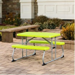 Lifetime Childrens Picnic Table, Chartreuse, 260322 found on Bargain Bro India from Sam's Club for $49.98