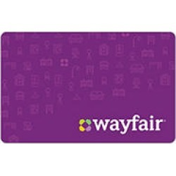 Wayfair $50 eGift Card (Email Delivery) found on Bargain Bro Philippines from Sam's Club for $48.58