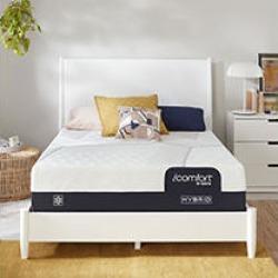 iComfort by Serta CF1000 Hybrid Medium Queen Mattress Set- Standard