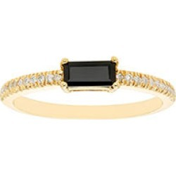 Onyx and .10 CT. T.W. Diamonds in 14K Gold Yellow7 found on Bargain Bro from Sam's Club for USD $136.04