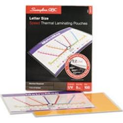 Swingline GBC - HeatSeal LongLife Premium Laminating Pouches, 5 mil, 11 1/2 x 9 - 100 per Box