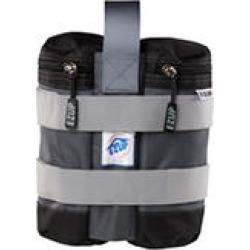 E-Z UP Weight Bag Set, 25 lbs, Set of 4 - Gray