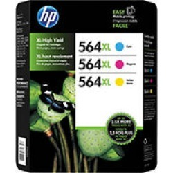 HP 564XL Tri-color Inkjet Combo Pack
