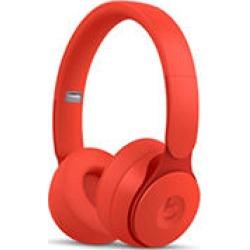 Beats Solo Pro Wireless Noise Cancelling On-Ear Headphones (Red)