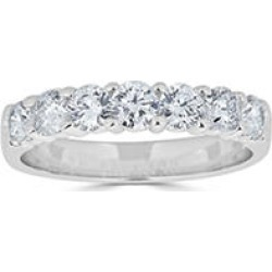0.49 CT. T.W. 7-Stone Diamond Band Ring in (HI, I1) White Gold 7.5 found on Bargain Bro India from Sam's Club for $599.00