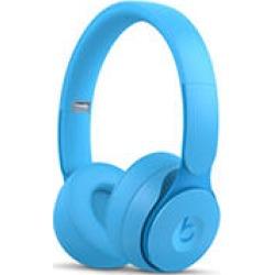 Beats Solo Pro Wireless Noise Cancelling On-Ear Headphones (Light Blue)